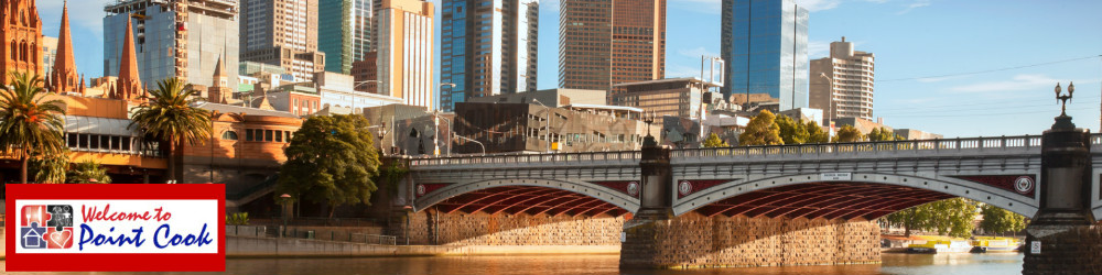 Yarra River, attractions close to Point Cook, family activity, Flinders Station, train station, melbourne city skyline,